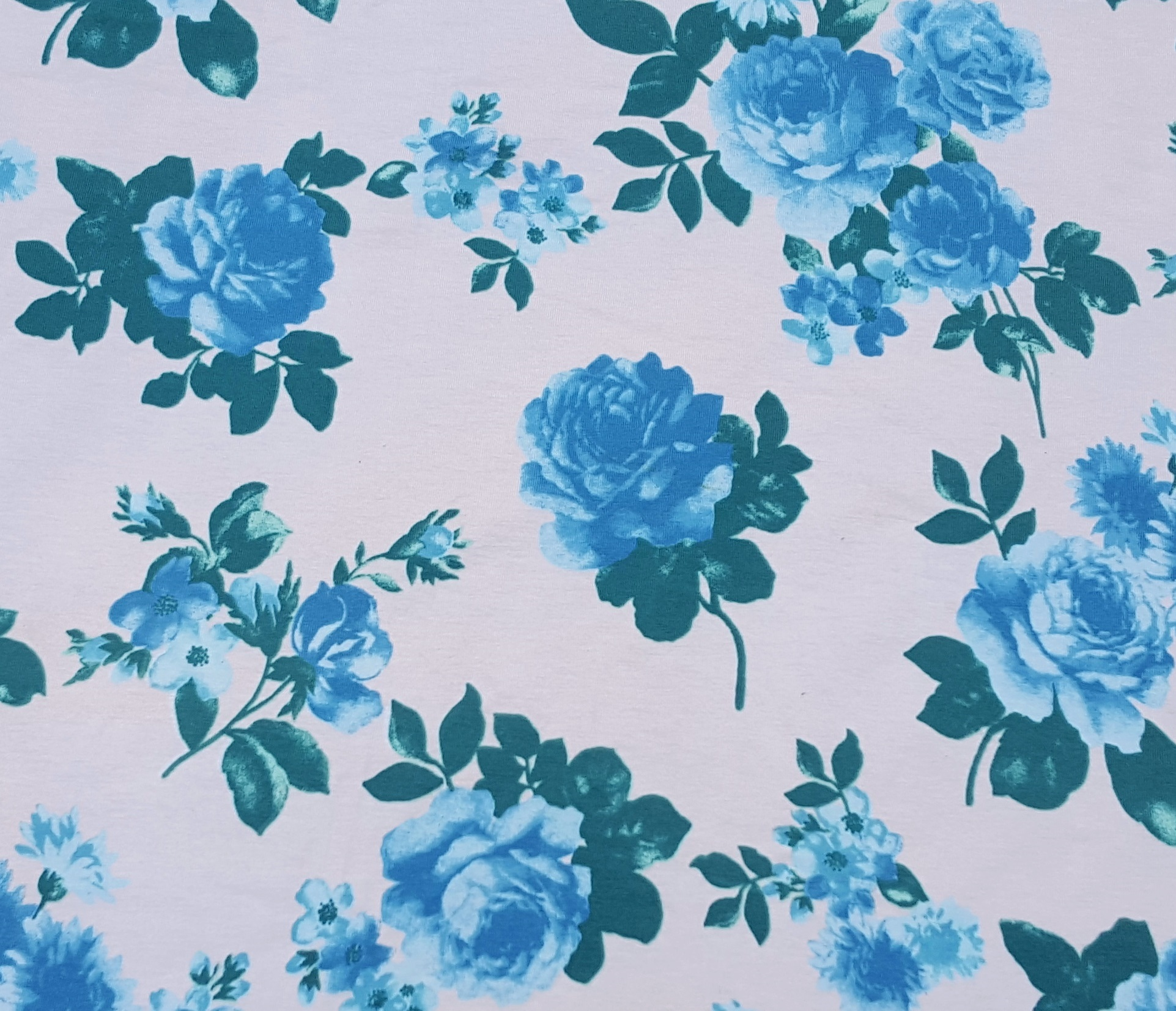 Cotton Flower Print Fabric